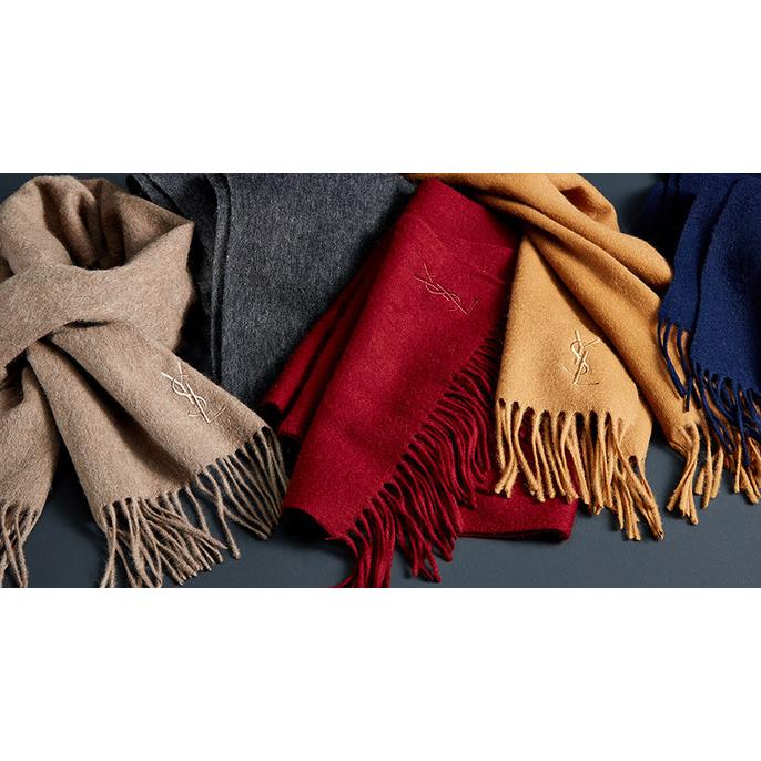 YSL 頸巾(黑色星期五大減價)