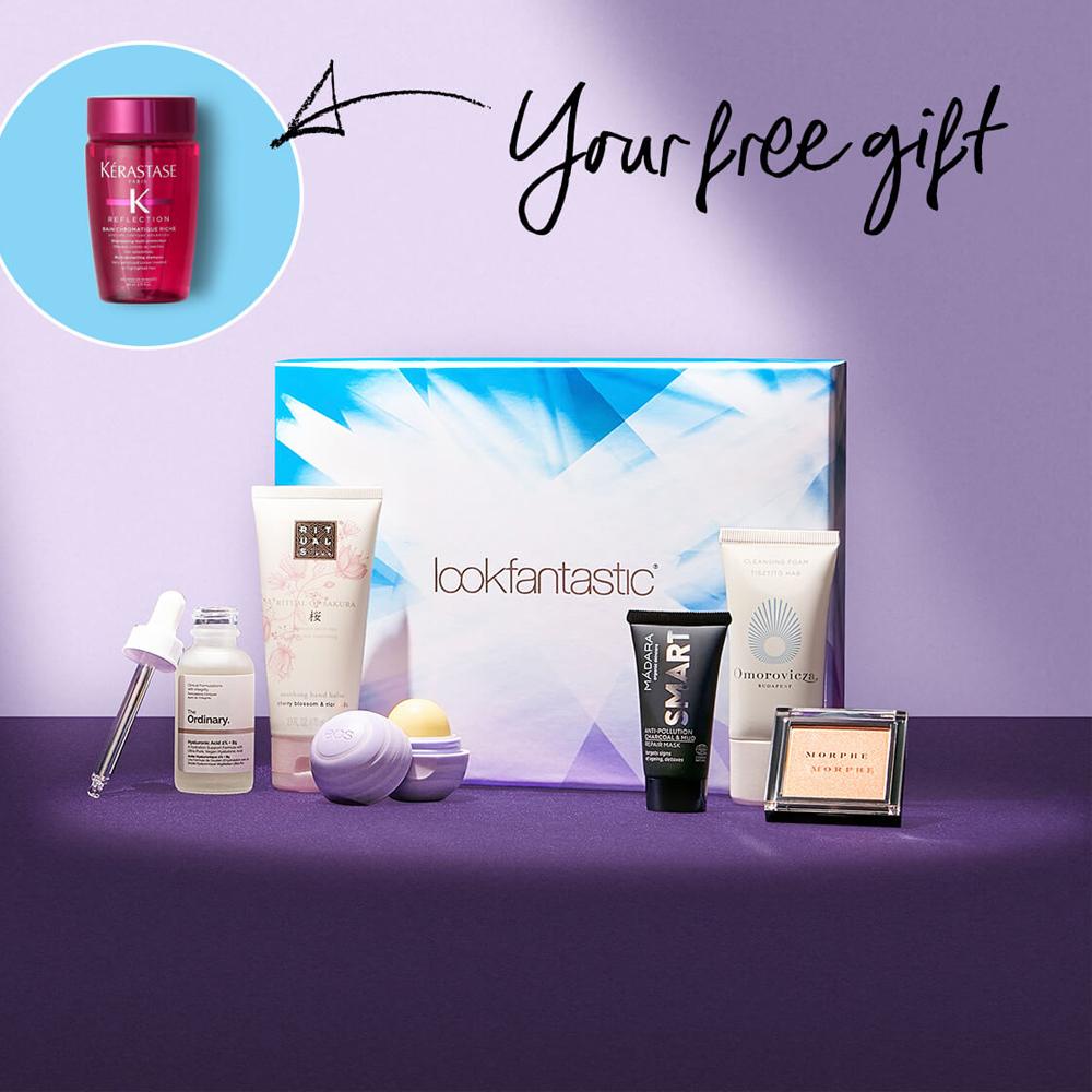 網購Lookfantastic三個月Beauty Box只需HK$420+免費直運香港/澳門