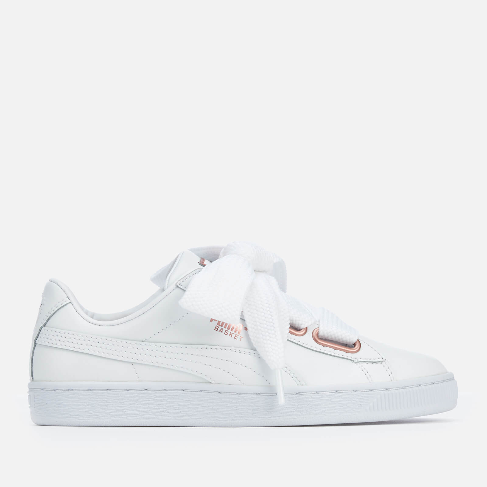 black and rose gold puma trainers