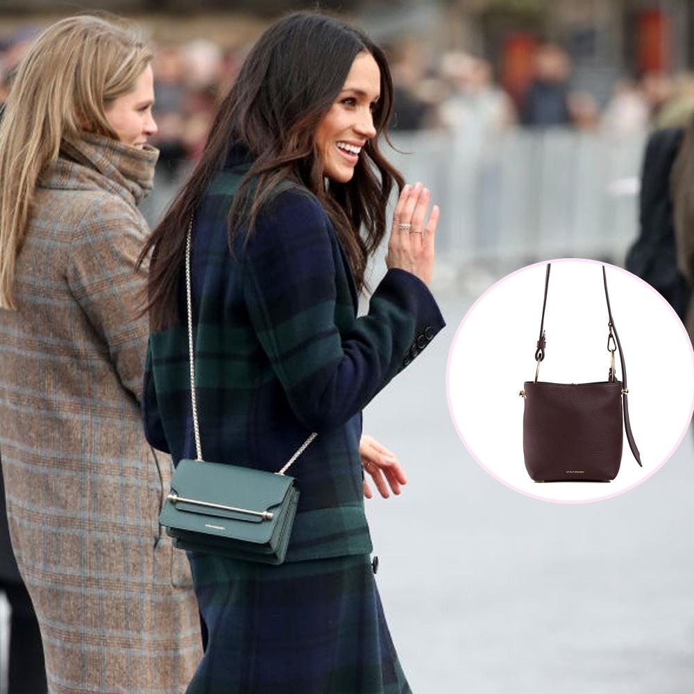 梅根王妃最愛 英國手袋品牌Strathberry出新系列手袋+免費直運香港/澳門