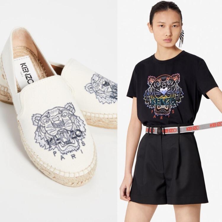 網購Kenzo鞋履上衣低至HK$741 +免費直運香港/澳門