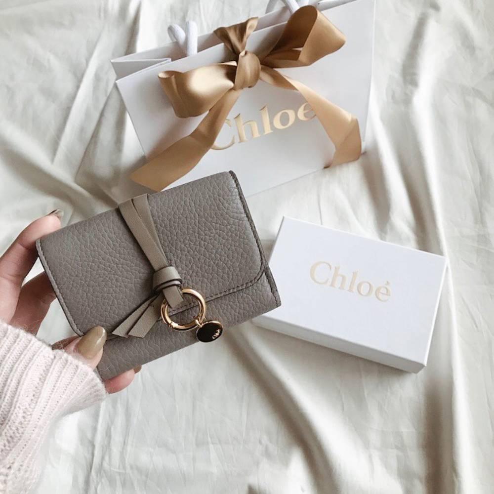 網購Chloé銀包低至香港價錢55折+免費直送香港/澳門