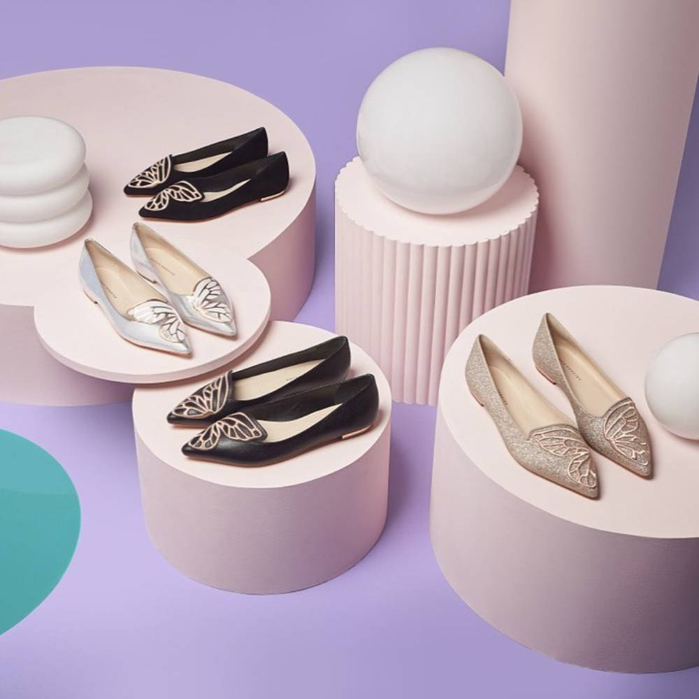 網購Sophia Webster蝴蝶鞋低至香港價錢51折+免費直運香港/澳門