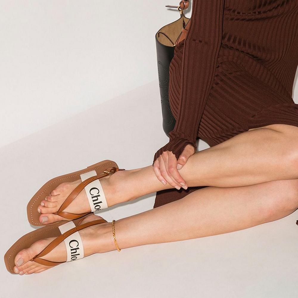網購 Chloé Woody 系列鞋款低至64折+直運香港/澳門