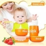 ThinkBaby 不銹鋼兒童餐具套裝 推介+直送香港