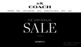 Coach年中大減價